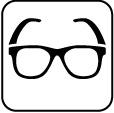drážka na okuliare